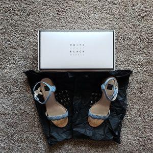 NWOT WHBM Sandals Light Blue Size 8